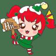 クリスマスガールのミラ