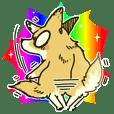 雑種犬ハナジロウ