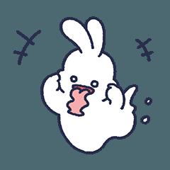 The Little Ghost Rabbit Pomo