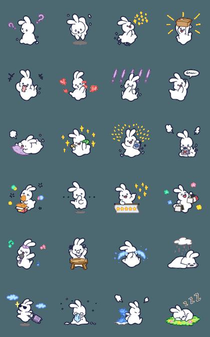 幼いぼうれいウサギ Pomo