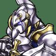 Anime tique Femme Autocollant chevalier