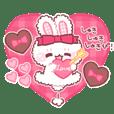 FUWAUSAchan sticker 3 -Love-
