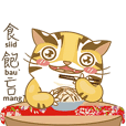Miao Li Meow Leopard cat 2