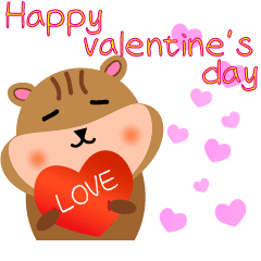 シマリスのバレンタインデー_英語