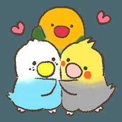 Parakeet to convey feelings :Birdtorio