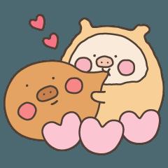 Pancake Piggy Love
