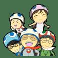 KAME Family from MInami-town Tokushima