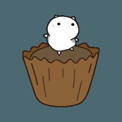 cat and dessert - 01
