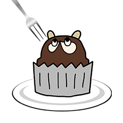 Tanuki cake