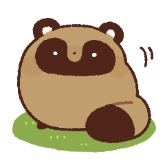 chubby raccoon dog
