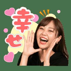 MONA オフィシャルスタンプ 上田 楓