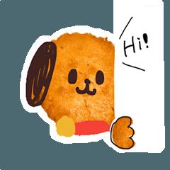 Sweet! Cupcake dog.(English)