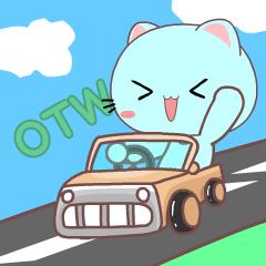 Sora the blue cat 4