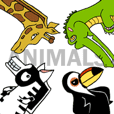 4 ANIMALS 朋友 !