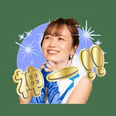 MONA オフィシャルスタンプ 升田里歩