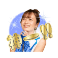 MONA official sticker riho