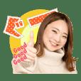MONA オフィシャルスタンプ 藤田真衣