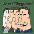Shogi Man(King,Gold,Gin,Pawn)