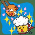 Mr. Beer & Miss.Chicken filet