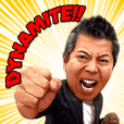 Punch Sato, Dynamite!! Sticker.