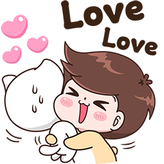 Boobie Cute Cat and Dog (Eng.Ver)
