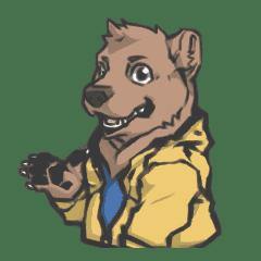 連帽系列-熊