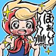 NINJA SAYURI Sticker