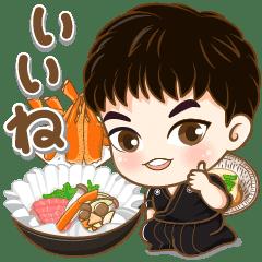 かわいい若い小西 セット2 (食べ物)