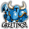Shovel Knight Sticker Collection 1