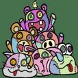 Animals of patchwork