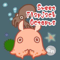 Sweet Flapjack Octopus Stickers (en)