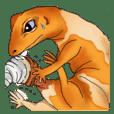 関西弁な爬虫類さん