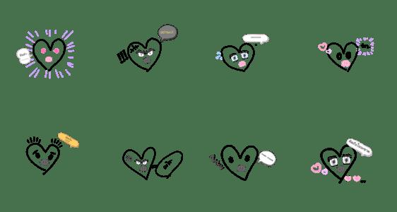 「I Love_」のLINEスタンプ一覧