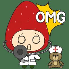 [かわいいイチゴ]ラブリーベリー3 (英語)