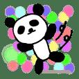 expressionless panda
