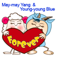 May-may Yang & Young-Young Blue