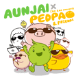 AUNJAI x PEDPAO&FRIENDS (ZA ZAE RANGERS)