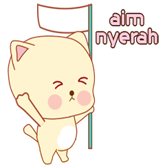 New: animated cat stickers
