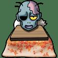 Foot warmer KOTATSU &Zombie