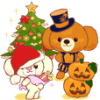 ココとリリ★クリスマス/ハロウィーン/新年