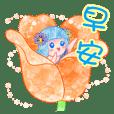 四季精靈-春季精靈-母親節快樂