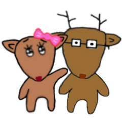 Couple Deer Sweet Daily_2nd