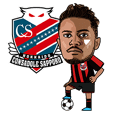 CONSADOLE official Sticker 2020 Japanese