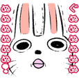 Strange rabbit Sticker vol.6