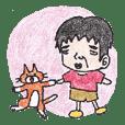 頑張れ!奥村さんと三匹の猫