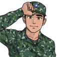Taiwan Army uniform Stickers