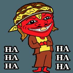 joking with Cepot sundanese version