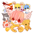 Animals kemono stickers