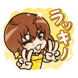 Takano Yuri's Sticker 1st