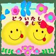 【大人女子にこちゃん】お花畑/丁寧語/敬語